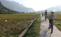 cycling across Vietnam  http://www.guardian.co.uk/travel/2013/apr/19/vietnam-cyling-tour-food-family