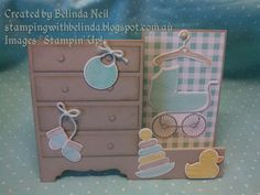 Stampin' Up! - Something for Baby- Side Step Card