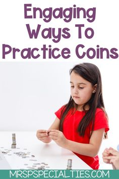 Use these engaging activities to practice coins & money skills with your students. Learn how to avoid students becoming bored with practice & getting off task. Use these 7 hands-on ideas to get students in special education classes to practice money skills in varied ways & build generalized and functional skills. Click now to read the tips that will help your students in autism, self-contained, & special needs classes develop lifelong functional skills. Autism Resources, Classroom Resources, Resource Room Teacher, Self Contained Classroom, Direct Instruction, Teaching Special Education, Kindergarten Math, Preschool, Second Grade Math