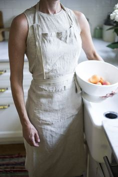 Laundered Linen Apron