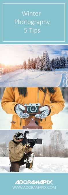 Winter Photography - 5 Tips #Winter #Photography