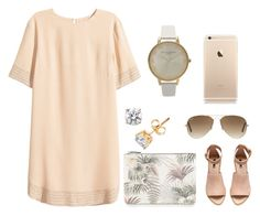 """""""Untitled #10"""" by liz-bingham ❤ liked on Polyvore featuring H&M, Warehouse, Ray-Ban and Olivia Burton"""