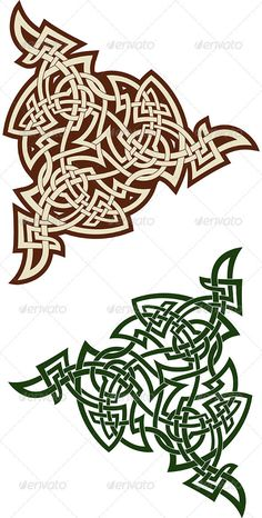 Celtic Triskell — JPG Image #color #traditional • Available here → https://graphicriver.net/item/celtic-triskell/3516261?ref=pxcr
