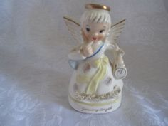 Vintage Napco January Angel