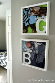 Baby Keepsake Shadow Box - Showcase those Memories! One of my most popular pins!!!