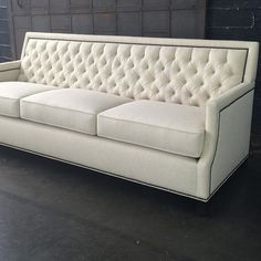 Design bites: Popular and beautiful, our Genevieve sofa has the perfect mix of a classic, yet modern style. #Interior