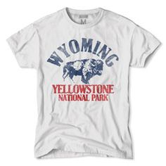 Wyoming-Yellowstone National Park T-Shirt