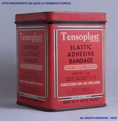 Tensoplast - anni Quaranta