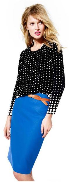 No. 2 pencil skirt J. Crew