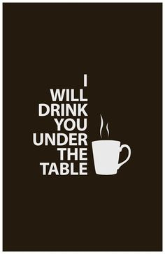 Coffee, coffee, coffee! - Click image to find more Illustrations & Posters Pinterest pins