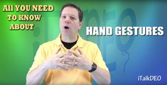 All You Need to Know About Hand Gestures