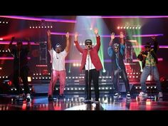 Mark Ronson & Bruno Mars Perform 'Uptown Funk' - YouTube