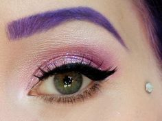 Purple Brows!