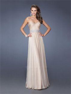 A-line Sweetheart Beads Chiffon Prom Dress PD1377 www.homecomingstore.com $185.0000