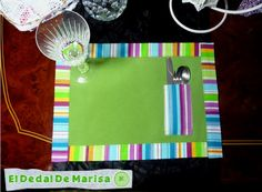 El Dedal de Marisa: Mantelitos Individuales / Single Tablecloth