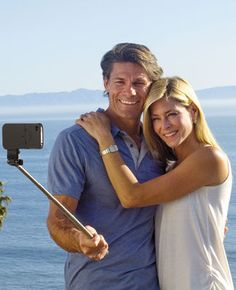 camera extender - so you can be in the pics too instead of always taking them  Haha so funny