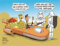 Obama = Jedi & Media = (easily manipulated) Storm Troopers