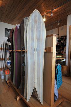 "Taro Tamai Snowsurf Design ""Big Fish"""