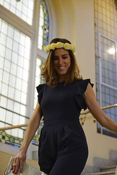 #look de boda #invitadaperfecta #ritajones #weddinglook #flowerscrown #clutch #outfit #look #style #boda #wedding #saioa aguirre #thehighville