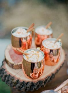 Winter Wedding Signature Drink: Gingersnap Cocktail | Brides.com