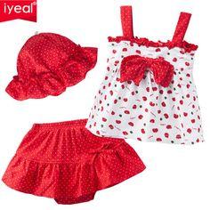 2017 Nova moda Quente do Verão Do Bebê Roupas de Menina Set Crianças T-shirt + Tutu calça + chapéu 3 PCS Crianças Newborn bebe Vestuário Set Para 0-2 anos