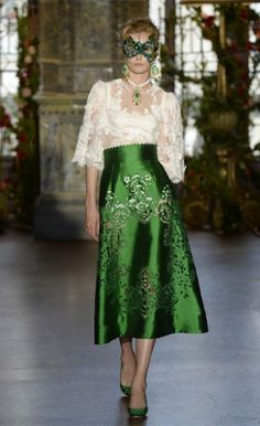 dolce and gabbana 2014 | ... Dolce & Gabbana alta moda autumn/winter 2013 show Photo: Dolce