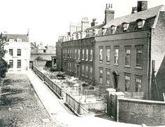 Deptford dockyard officers residences 1880 - demolished 1902