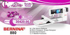 Bernina 880 #ramadan #kareem #discount #sale #sewing #machine #bernina #stitch #fashion #online #mall