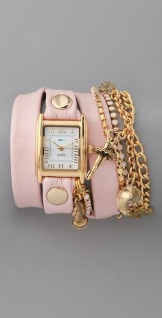 love wrap watches!