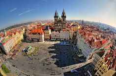 Prague, Czech Republic | Photograph Old Town Square. Prague by Ernest Glez. Roda on 500px