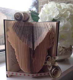 Angel Wings Book Folding Pattern by CraftyHana on Etsy £2.50
