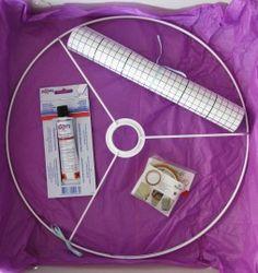 zelf lampenkap maken (pakket) Diy Crafts, Lights, Handmade, House, Hand Made, Home, Make Your Own, Craft, Haus