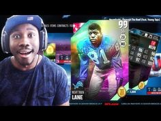 99 EASTER NIGHT TRAIN LANE! EASTER PACK OPENING Madden 16 Ultimate Team Gameplay Ep. 42 - YouTube