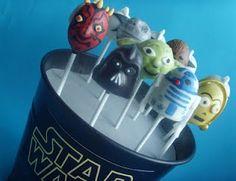 Star Wars Cake Pops! #geek #Recipe