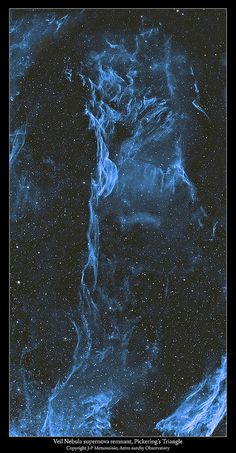 A two frame mosaic of the Veil Nebula in light of ionized oxygen only   Flickr - Photo Sharing!