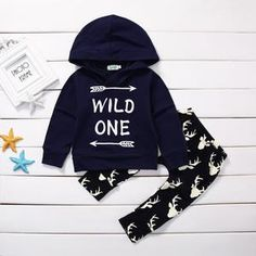 Your a Real Wild One Hoodie and Pants Set – Silly Little Ditties