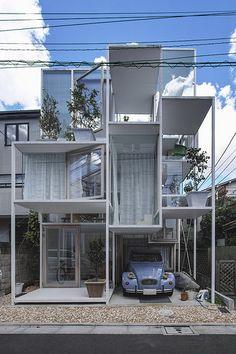 House NA  Architect: Sou Fujimoto 藤本壮介 Location: Tokyo, Japan Completion year: 2011