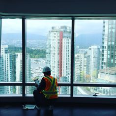 BEHIND THE SCENES | We are working hard to ensure the finishes are up to standard before walk through with our home owners #holborngrp #vancouver #vancity #downtownvancouver #hotel #residence #tower #luxury #highrise #citycentre #highend #lifestyle #luxurylifestyle #realestate #bcrealestate #property #architecture #bc #yvr #cityview #pacificnorthwest #northamerica #westcoast #canada #interiordesign #housing #westerncanada #luxuryhome @trumpvancouver #trumpvancouver