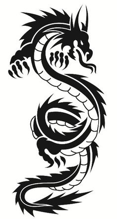 Dragon Tribal Tattoo Designs, ] ~ Popular Tattoo Design - Clip Art tribal dragon tattoo - Tattoos And Body Art Tribal Dragon Tattoos, Dragon Tattoos For Men, Maori Tattoos, Marquesan Tattoos, Dragon Tattoo Designs, Tribal Tattoo Designs, Samoan Tattoo, Tattoos For Guys, Polynesian Tattoos