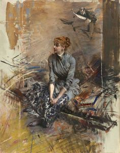 Learn more about Portrait Of Madame Gabrielle Rejane Giovanni Boldini - oil artwork, painted by one of the most celebrated masters in the history of art. Giovanni Boldini, John Singer Sargent, Italian Painters, Art Database, Portraits, Traditional Paintings, Equine Art, Wassily Kandinsky, Claude Monet
