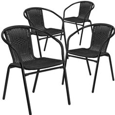 Found it at Joss & Main - Stacking Dining Arm Chair