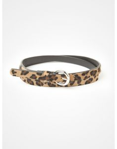 / Leopard print skinny belt www.jacob.ca @Boutique JACOB #JACOBGIFTS Skinny Belt, Stockings, Style Inspiration, Boutique, My Style, Leather, How To Wear, Gifts, Gift Ideas