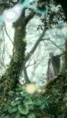 - Ginko and spirit of mountain -