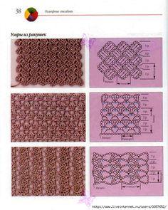 Esquema Diagrama Patrón Ganchillo Crochet