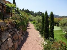 Middle earth way below the villa and above the little golf space