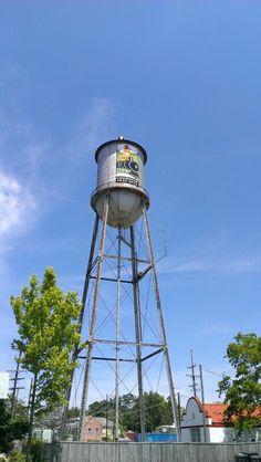 Water tower - Covington, Louisiana.