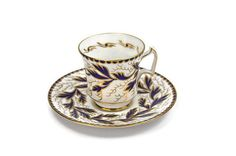 Royal Chelsea Tea Cup / Cobalt and Gold Gilt ♥ | Shop PeriodElegance's Tea & Coffee, www.PeriodElegance.etsy.com
