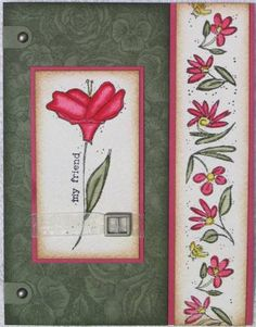 For My Friend using Stampin' Up! In Full Bloom