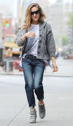 Sarah Jessica Parker out and about, New York - 29 April 2013