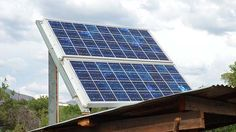 DIY Solar panels for tiny house off grid living
